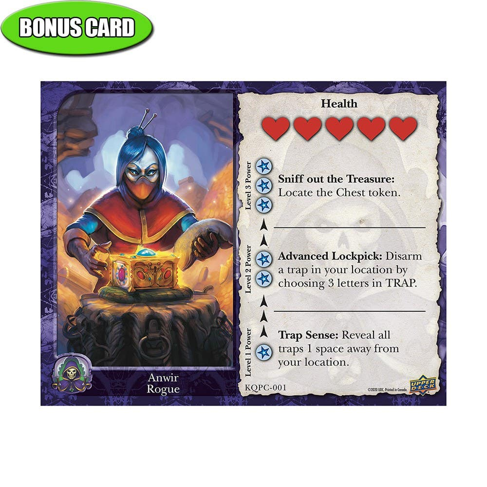 Keepers of the Questar Bonus Card - Anwir Rogue