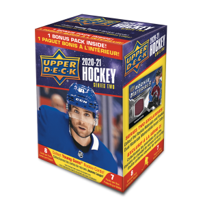 2020-21 Upper Deck Series 2 Hockey Cards (Blaster)