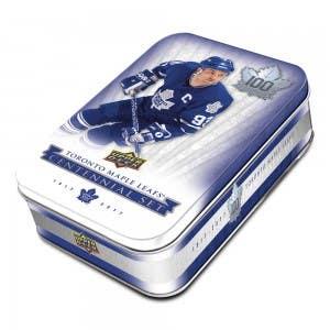 2017 Toronto Maple Leafs Centennial Set (Tin)