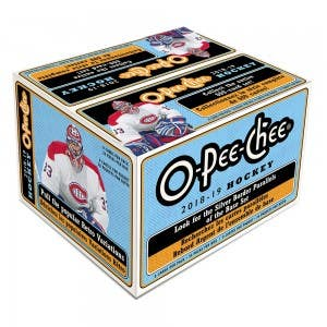 2018-19 NHL O-Pee-Chee Hockey Cards (Retail)