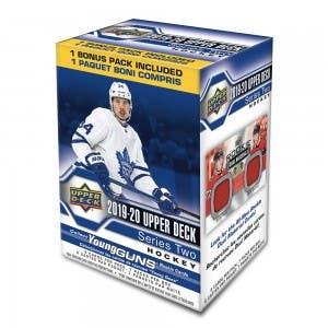2019-20 Upper Deck Series 2 Hockey Cards (Blaster)