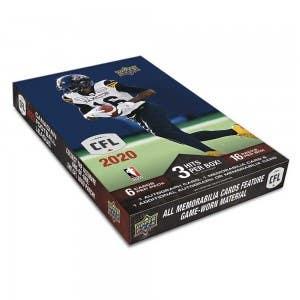 2020 Upper Deck CFL Football Cards