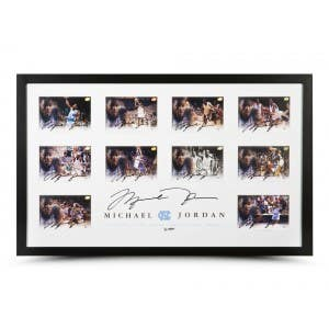 Michael Jordan Autographed University of North Carolina Collection