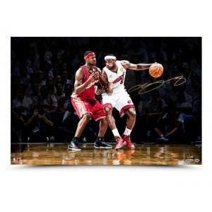 LeBron James Autographed Photo 1st & 10