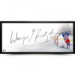 "Wayne Gretzky Autographed ""The Show"" Picture"