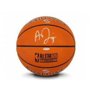 Anthony Davis Autographed 2020 NBA All-Star Game Authentic Spalding Basketball