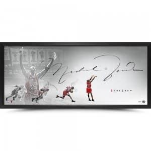 """Michael Jordan Autographed The Show """"The Last Shot"""""""
