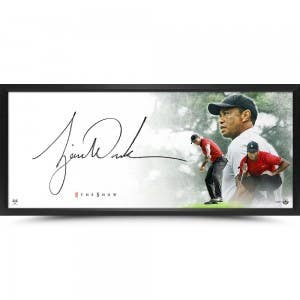 "Tiger Woods Autographed ""The Show Masterpiece"""