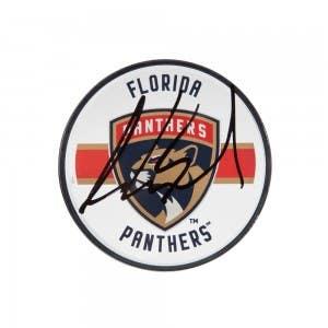 Aaron Ekblad Autographed Florida Panthers Acrylic Puck