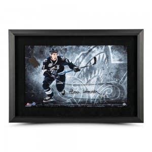 Alexis Lafrenière Autographed Acrylic Hockey Stick Blade