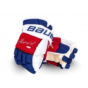 Alexis Lafrenière Autographed Bauer Vapor 2x Pro Gloves