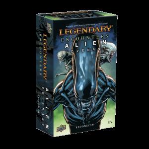 Legendary® Encounters: Alien Covenant: An Alien Deck Building Game Expansion   Bonus Alternate Art Card