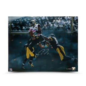"Allen Robinson Autographed ""Over the Middle Heat"" 16 x 20"