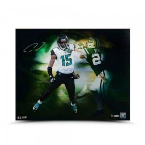 """Allen Robinson Autographed """"vs. Revis"""" 16 x 20"""
