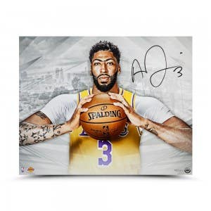 "Anthony Davis Autographed ""A New Era"" 20x16"