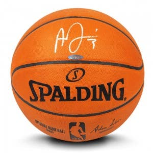 Anthony Davis Autographed Authentic Spalding Basketball