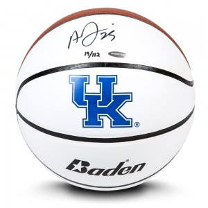 Anthony Davis Autographed Baden University of Kentucky Basketball