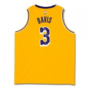 "Anthony Davis Autographed & Inscribed ""2020 Champs"" Los Angeles Lakers Nike Swingman Icon Edition Jersey"