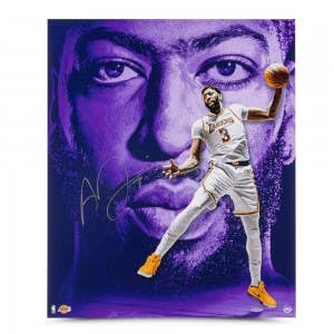 "Anthony Davis Autographed ""Portrait of Success"" 20x24 on Metallic Paper"