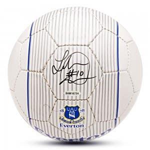 Landon Donovan Autographed Nike Everton Ball