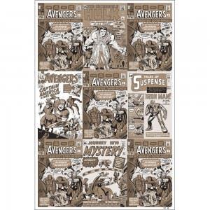 Avengers Origins Variant MOCKUP
