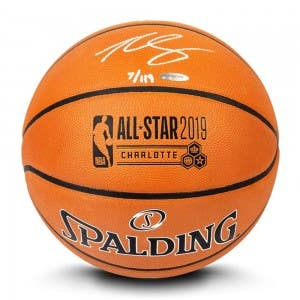 Ben Simmons Autographed 2019 NBA All-Star Game Authentic Spalding Basketball
