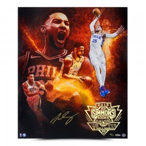 """Ben Simmons Autographed """"Act 1"""" 20x24"""