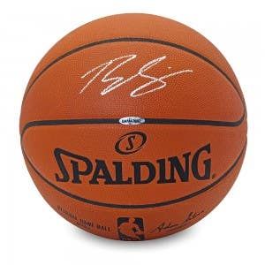 Ben Simmons Autographed Authentic Spalding Basketball