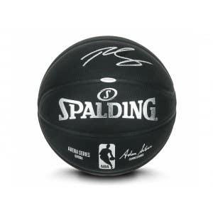 Ben Simmons Autographed Black Indoor/Outdoor Spalding Basketball