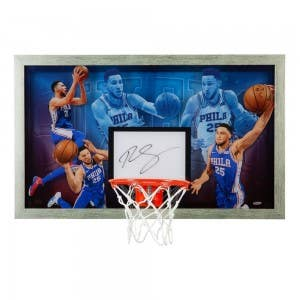 "Ben Simmons Autographed ""Facilitator"" Backboard"