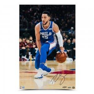 "Ben Simmons Autographed ""Handle"" 16 x 24"