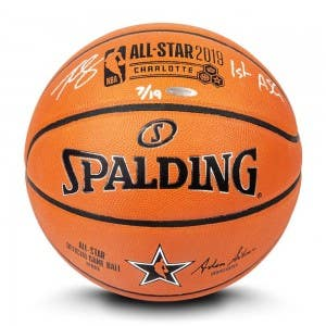Ben Simmons Autographed & Inscribed 2019 NBA All-Star Game Authentic Spalding Basketball