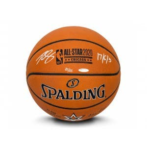 Ben Simmons Autographed & Inscribed 2020 NBA All-Star Game Authentic Spalding Basketball