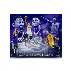 Ben Simmons Autographed Renaissance Man Photo