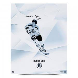 "Bobby Orr Autographed ""Clarity"" 16x20"