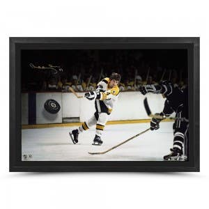 "Bobby Orr Autographed ""Power & Precision"" Breaking Through"