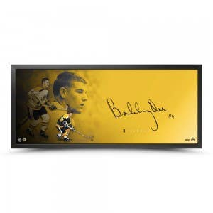 "Bobby Orr Autographed The Show ""Vision"""