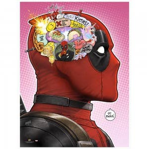 Brain Gravy Train   Deadpool Gallery Print