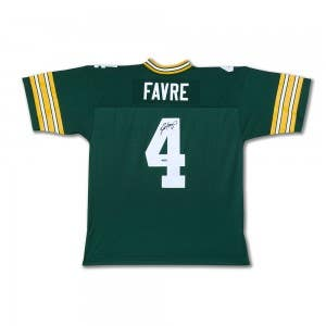 Brett Favre Autographed Mitchell & Ness 1996 Replica Retired Player Jersey