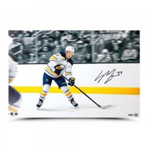 "Casey Mittelstadt Autographed ""First NHL Goal"" 24 x 16"