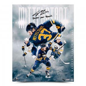 "Casey Mittelstadt Autographed & Inscribed ""Rookie Collage"" 16 x 20"