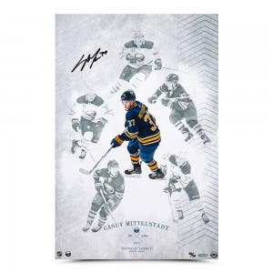 """Casey Mittelstadt Autographed """"On the Rise"""" 16 x 24"""