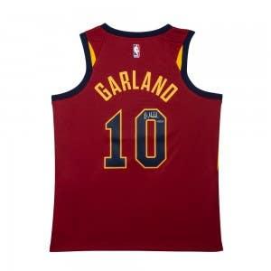 Darius Garland Autographed Cleveland Cavaliers Wine Nike Swingman Jersey