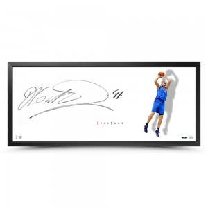 "Dirk Nowitzki Autographed The Show ""Shooter"""