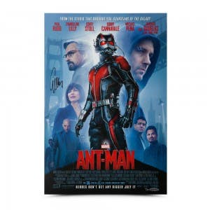 Evangeline Lilly Autographed Ant-Man Poster 13 x 19