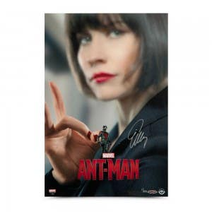 Evangeline Lilly Autographed Ant-Man 12 x 18 Poster