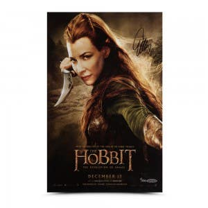 Evangeline Lilly Autographed The Hobbit 11 x 17 Poster