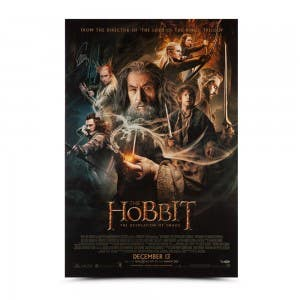 Evangeline Lilly Autographed The Hobbit: The Desolation Of Smaug 26 x 40 Poster