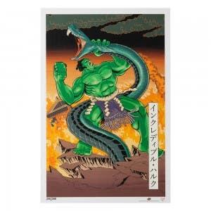 Hulk – Japanese Woodblock Avengers