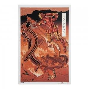Iron Man – Japanese Woodblock Avengers